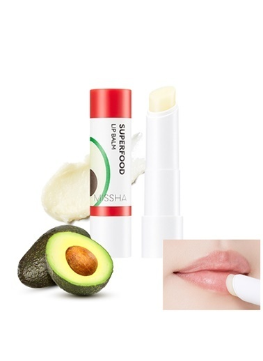 Missha Super Food Avocado Lip Balm Renksiz